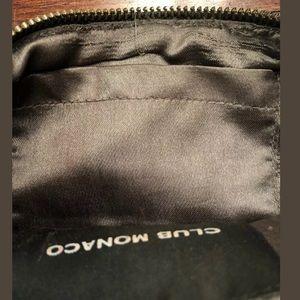 Club Monaco Bags - Club Monaco Clutch Handbag  Gray SILVER Beading
